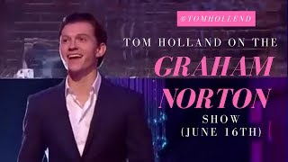 tom holland on the graham norton show - all clips!