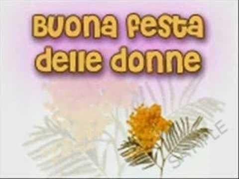 Festa Della Donna Youtube