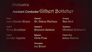 Carmen End Credits -  Musicians