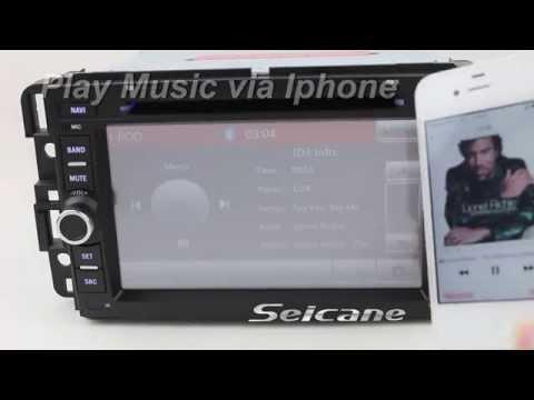 GMC Yukon Denali radio touchscreen navigation system DVD Player Bluetooth mp3 mp5 USB SD