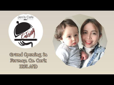 Jeni's Cafe Opening In Fermoy, Co. Cork, Ireland