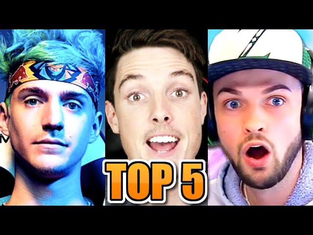 Top 5 Dying Youtubers Saved By Fortnite Ali A Lazar Beam Ninja