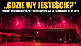 Zapowiedź Stali na Derby Rzeszowa wykonana na Baranówce 19.09.2019