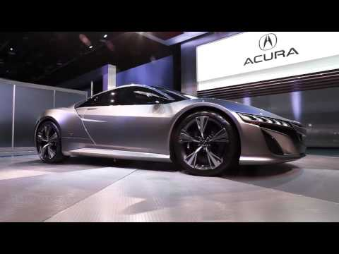Acura NSX Concept live in Detroit 2012 - general views