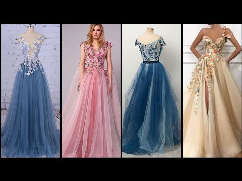 romantic-flowers-slit-prom-dresses-champagne-bead-a-line-evening-gowns