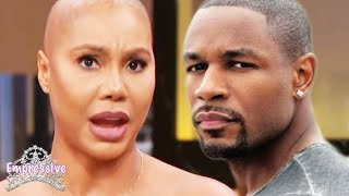 Tamar Braxton feuds with Tank on social media. Messy details inside! Video
