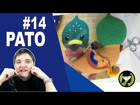 Pato amigurumi 14