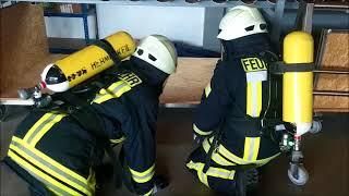 Jahresübung der Feuerwehren Züsch, Neuhütten, Damflos und Muhl