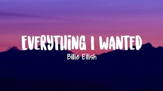 Billie Eilish - everything i wanted (Lirik Terjemahan Indonesia)