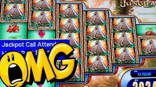 BIGGEST JACKPOT ON YOUTUBE! ★ SUPER JUNGLE WILD ★ MASSIVE BONUS WINS! ➜ HIGH LIMIT HANDPAY