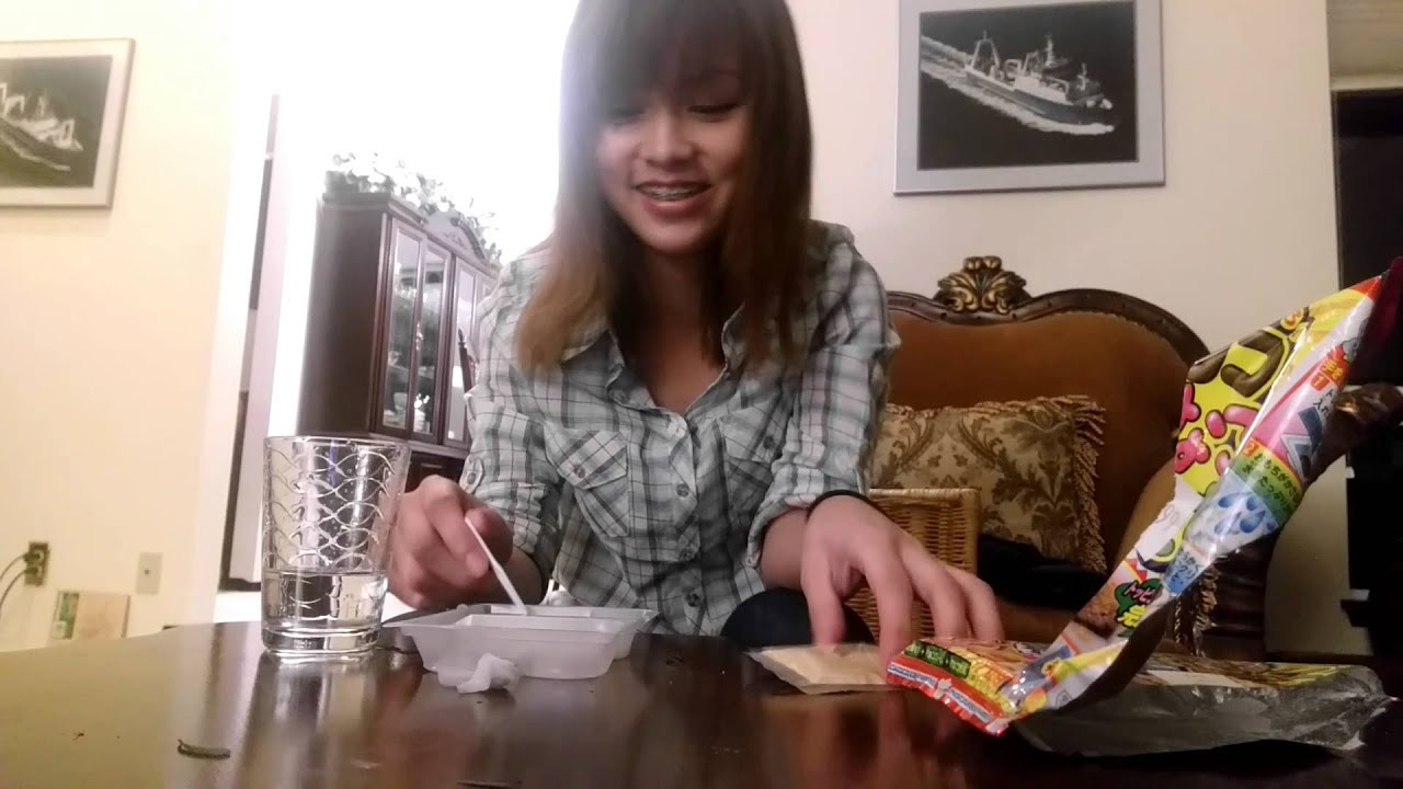 Trying Out Weird Japanese Food