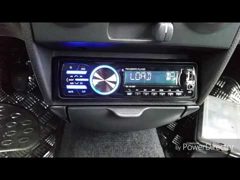 AUTORADIO STEREO AUX MP3 USB SD blutooth 18€