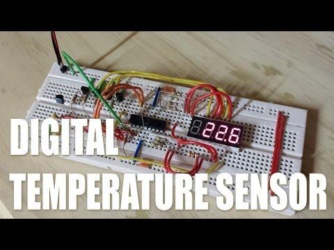 DS18B20 Digital Temperature Sensor PIC16F628A