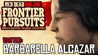 RDR2 Online - Five Star Legendary Bounty: Barbarella Alcazar (Run N Gun Gameplay)