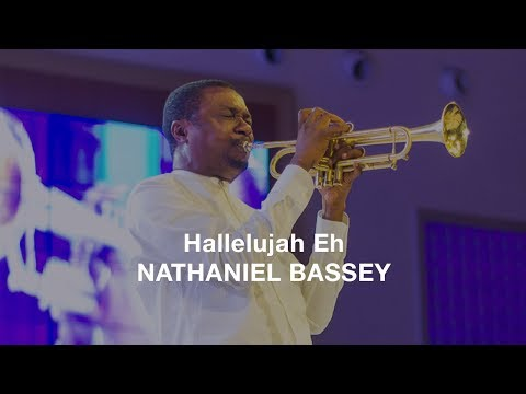 Hallelujah Eh - Nathaniel Bassey (Lyrics Video)