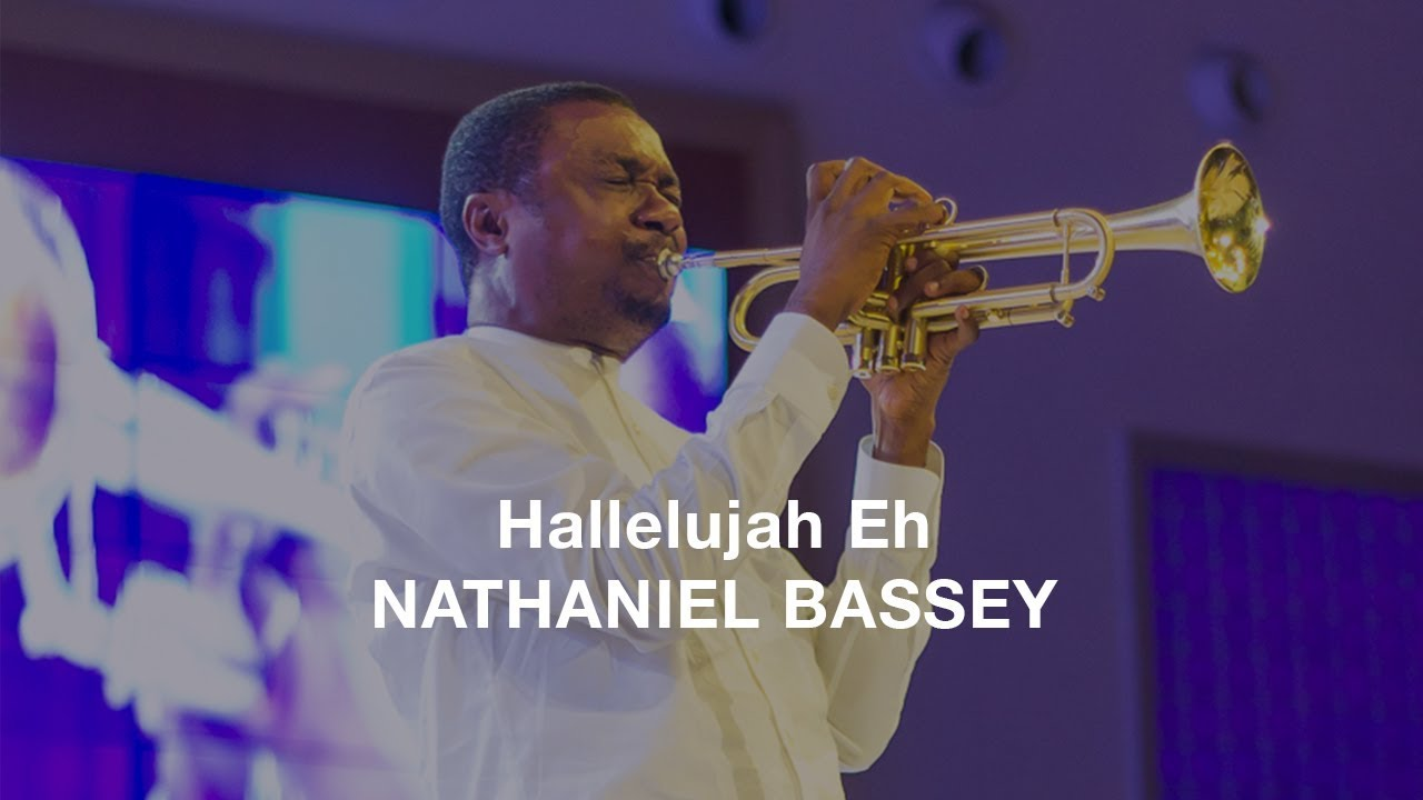 hallelujah eh nathaniel bassey lyrics video youtube