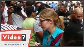 بالفيديو..وفد من الإتحاد الأوروبى يصل محكمة عابدين لمساندة