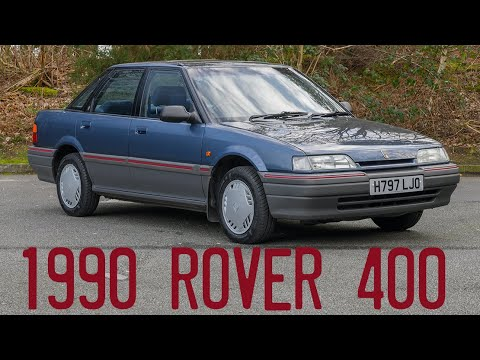 """1990 Rover 414 SLi 'R8"""" Goes For A Drive"""