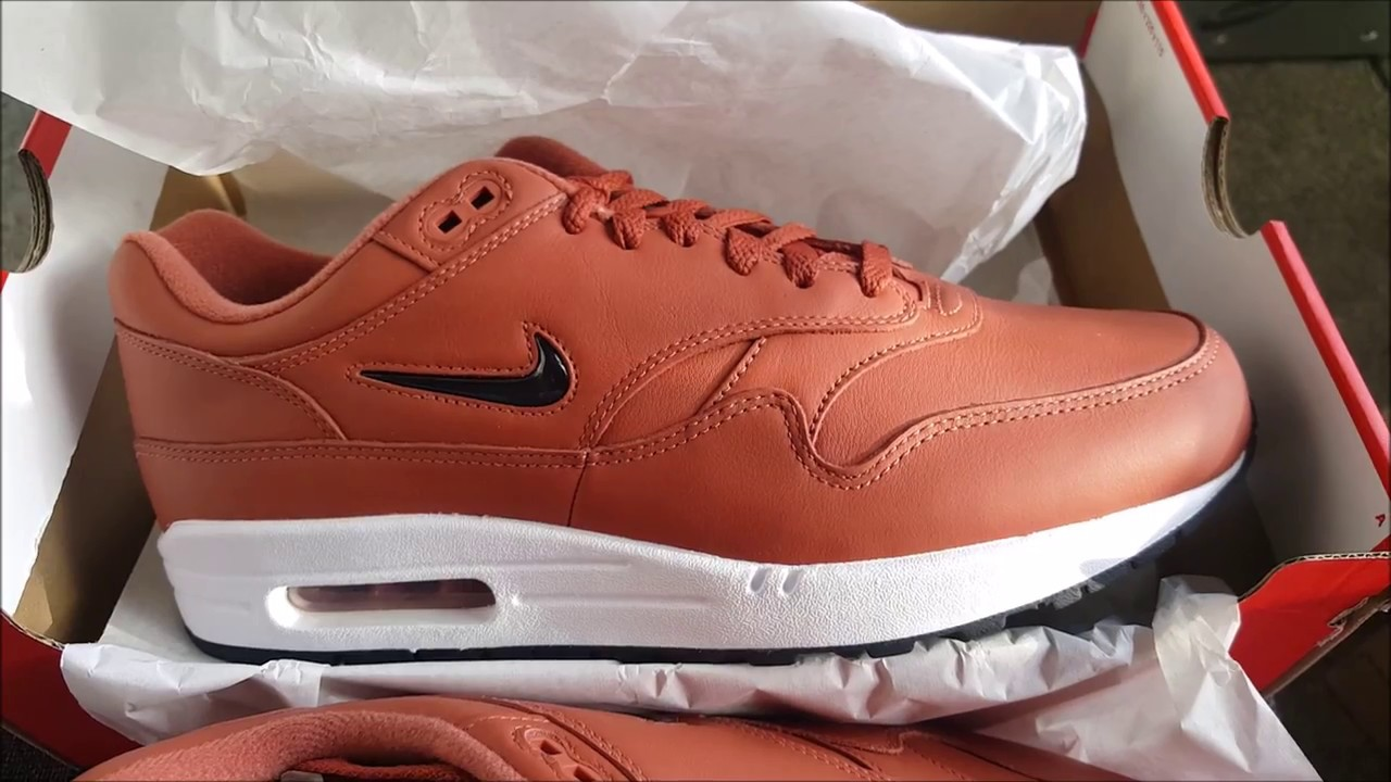 new styles f5e94 4f37d nike air max 1 premium jewel red