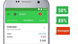 How to create and manage budgets with Money Lover   #1 Budget Planner App on Android screenshot 2
