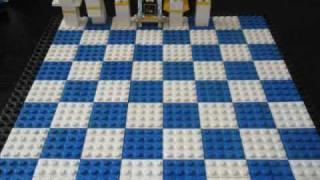 Building A Lego Chess Set