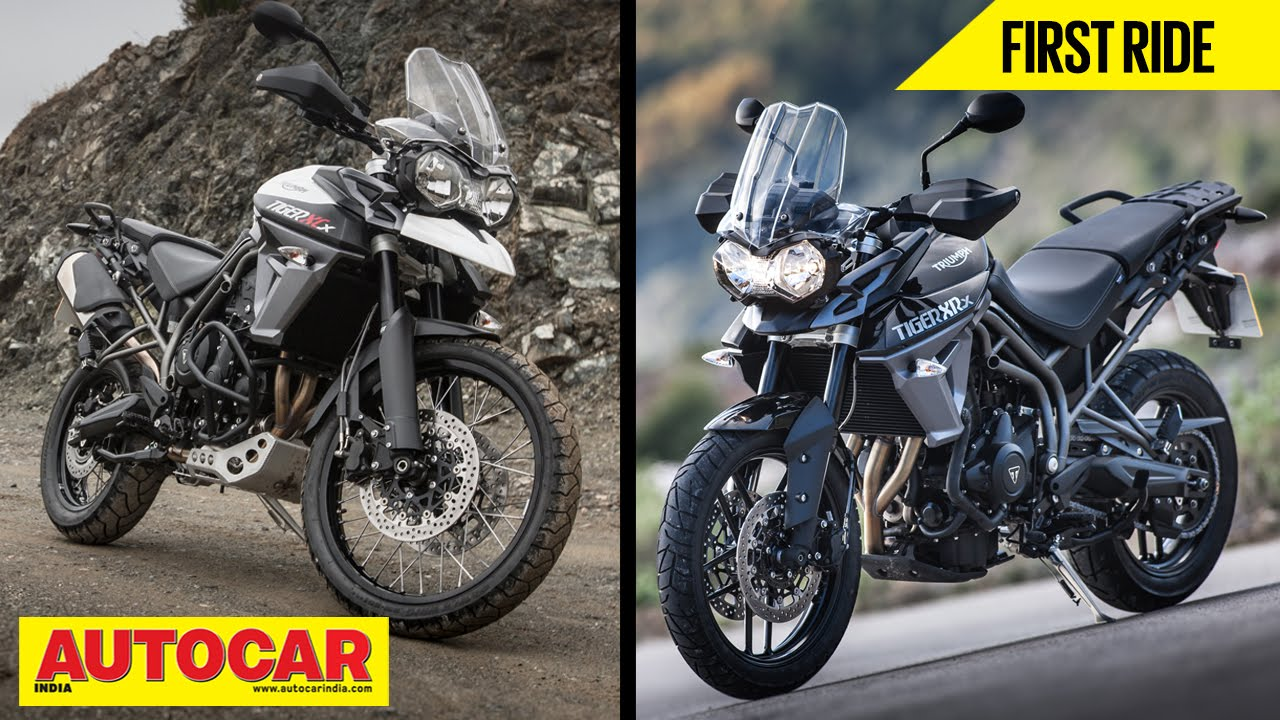 2015 triumph tiger 800 xr & 800 xc | first ride video review