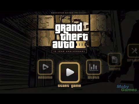 Samsung Galaxy W I8150 Playing Grand Theft Auto Vice City