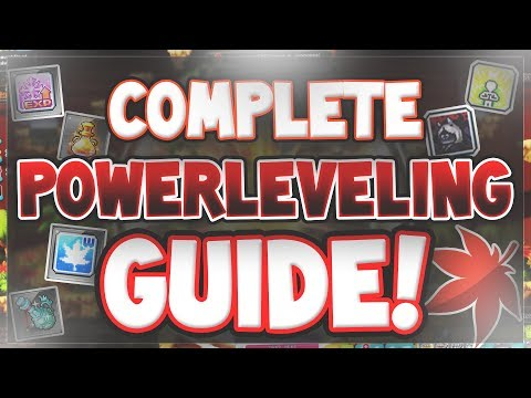 MapleStory - Guide to Power Leveling (2018)