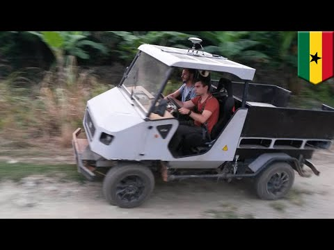 Electric car: Modular aCar designed by Technical University of Munich tested in Ghana - TomoNews