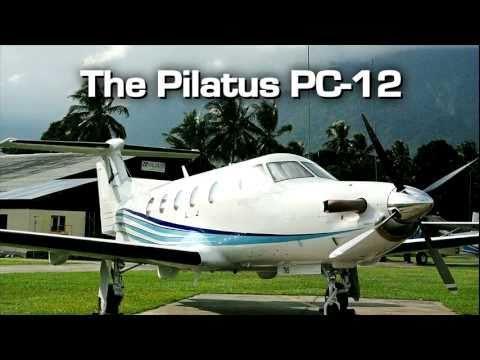 Pilatus PC-12 video from JetOptions Private Jets