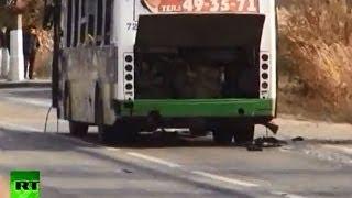 Теракт в Волгограде: кадры с места трагедии
