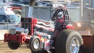 2016 Super Stock Tractor Pulls in Chatham NY Columbia County Fair