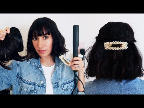 3 STYLES FOR SHORT HAIR + ANSWERING YOUR HAIR QUESTIONS | Jen Atkin