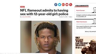 EX COLLEGE FOOTBALL STAR ARRESTED FOR HAVING INTERCOURSE WITH 12 YEAR OLD GIRL   JUSTIN CRAWFORD