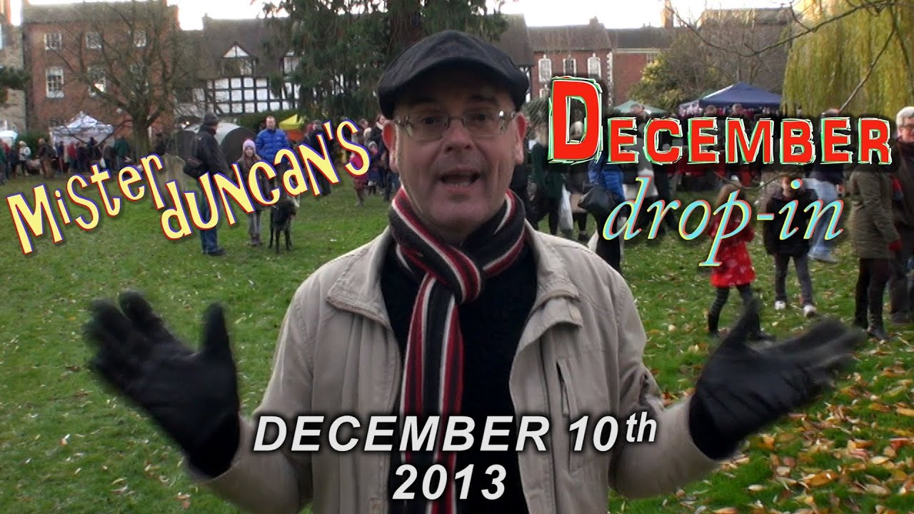 Christmas Time - English Lesson - Christmas Fair - December in England with Misterduncan