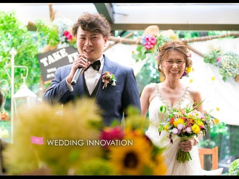 take it easy! produced by WEDDING INNOVATION