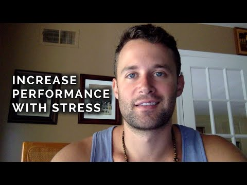 View stress as a challenge to improve performance. It's science. - Different Hunger