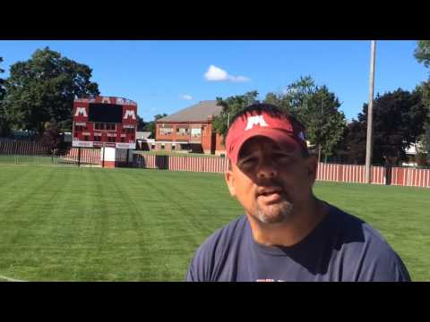 "Muskegon coach Shane Fairfield talks about ""Battle at the Big House"""