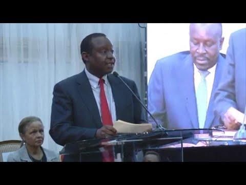 Kenya's Finance Minister arrested for corruption