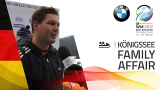Family affair | BMW IBSF World Championships 2017