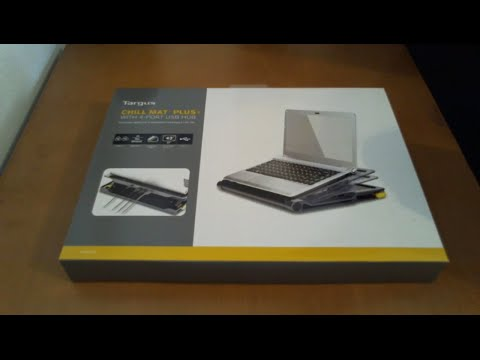 Unboxing Targus Chill Mat Plus With 4 Port Usb Hub