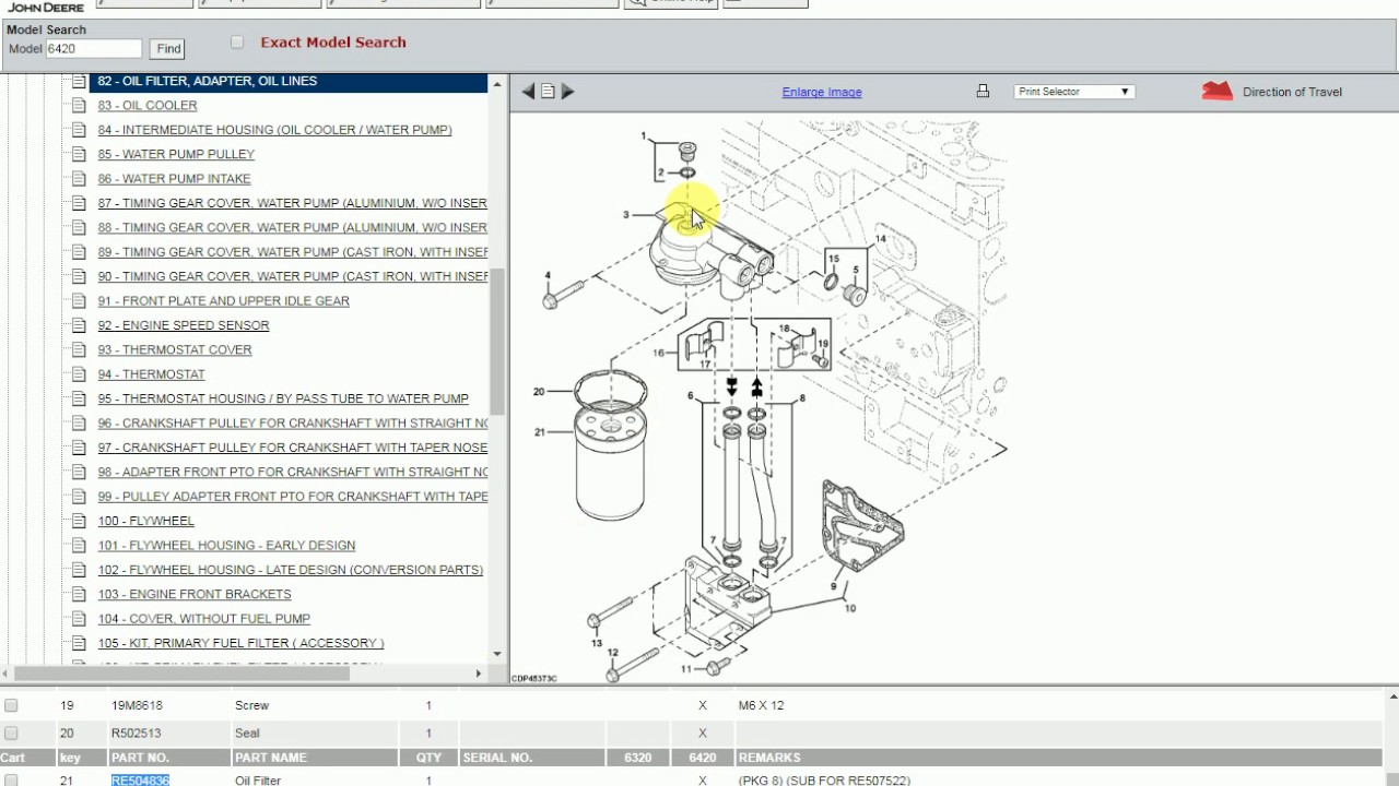 how to use the john deere online electronic parts catalog, epc Kubota Parts Diagrams