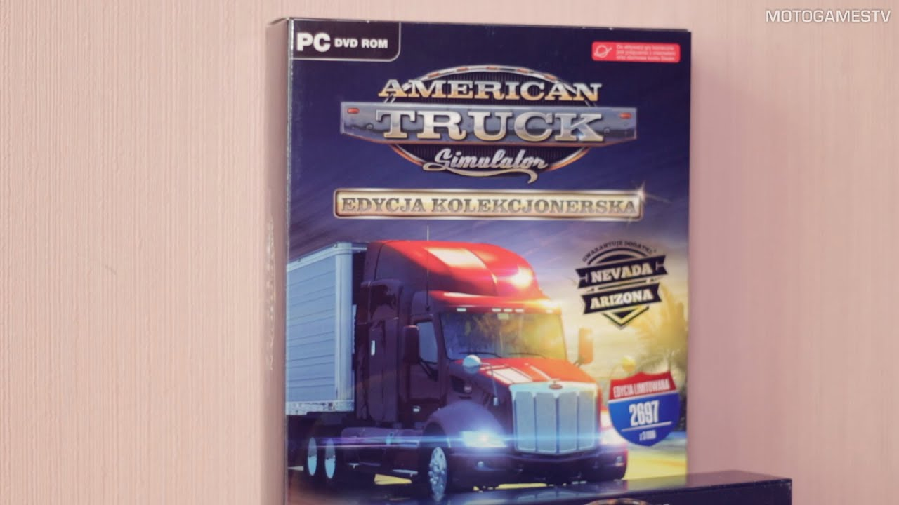 American Truck Simulator Collectors Edition - Unboxing PL ...