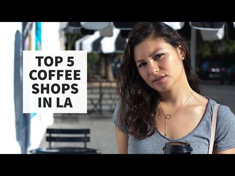 Top 5 Coffee Shops in LA