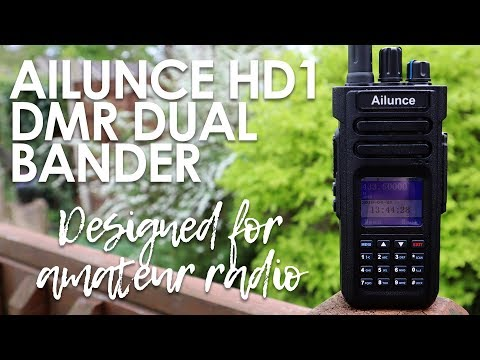 Ailunce Hd1 - A Game Changing Dmr Radio Designed For Radio