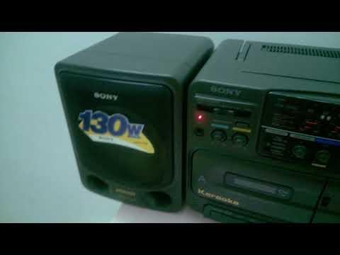 radio cassette sony 75S karaoke