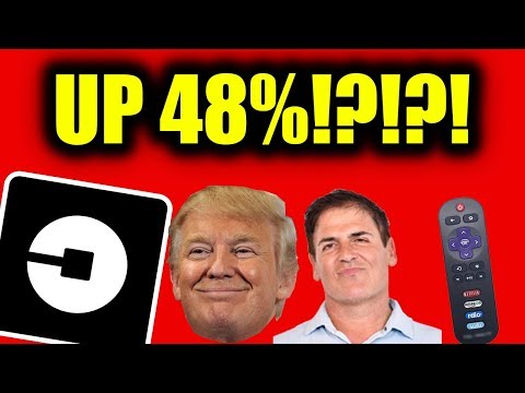 THIS STOCK IS UP 48%!!! - Uber 2019 IPO - Mark Cuban For President?
