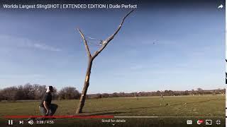 Slingshot basketball ft dude perfect (Read Desc.)