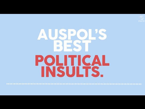 HACK: Auspol's best political insults