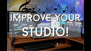5 Cheap Ways to IMPROVE Your Studio - The MORNING MINUTE